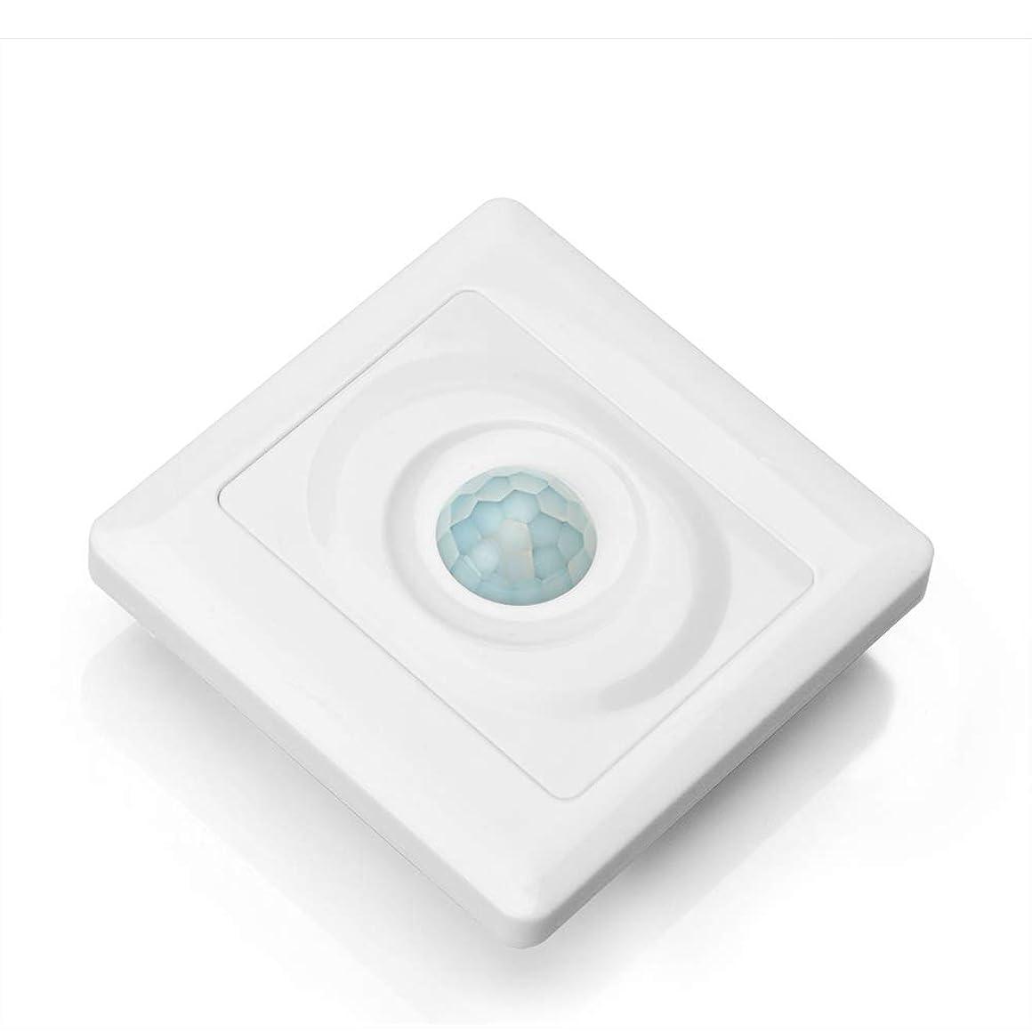略奪海港レーダーOSOYOO(オソヨー)人感センサー光りセンサー赤外線壁自動スイッチ