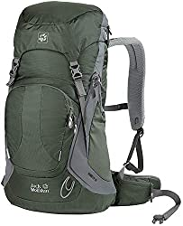 Jack Wolfskin Unisex Rambler 28 Hiking Backpack, Olive Drab, 48 x 30 x 16 cm, 28 Liter, 2002212-4053