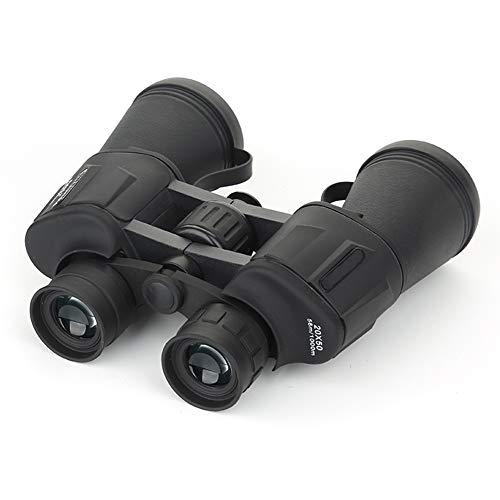 IUANUG 20X50 ingrandimento Elevato HD Lungo Raggio Zoom 20 Volte binocolo grandangolare telescopio da Caccia Incluso Panno per specchi Borsa Cordino,A