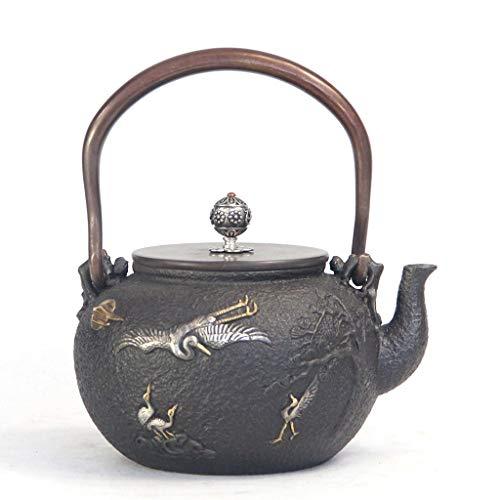 BYZHP Tetera Teapot Hervidor de té japonés 1.2l Tetera de