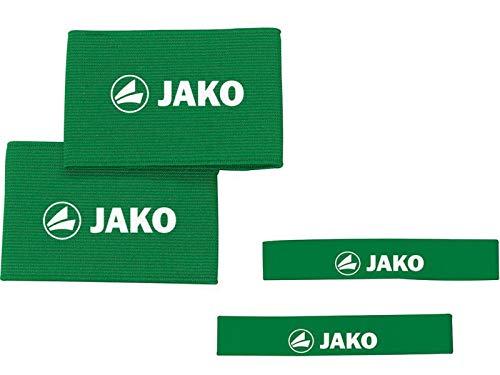 Sport-Kanze Jako Stutzenhalter/Schienbeinschonerhalter Set grün