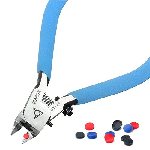 ガンプラ 用 ニッパー プラモデル 薄刃 片刃 超硬合金 プラモ 工具 VIAEON