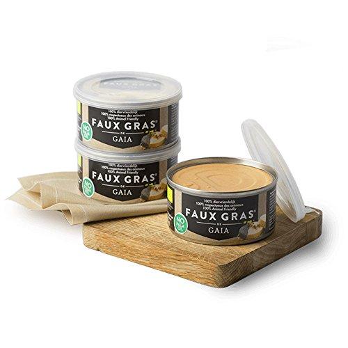 Gaia - Faux Gras de Gaia - 125g - Alternative au foie gras 100% végétale et respectueuse des animaux