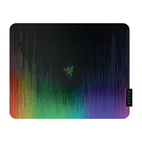 Razer Sphex V2 Mini - Tapis de Souris Gaming Mousepad, Compatible Souris Laser & Optique Laser, Ultra mince, Finition en polycarbonate et Nouveau Design Chroma