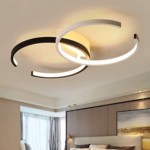 CBJKTX LED Deckenleuchte Wohnzimmer Deckenlampe schlafzimmer 54cm 37W dimmbar mit Fernbedienung Wohnzimmerlampe Kronleuchte Kinderzimmer Esszimmerlampe Schlafzimmerlampe Badezimmerlampe Flurlampe