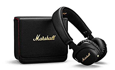 Marshall Mid Active Noise Cancelling (A.N.C.) Headphones with Bluetooth, Black by Zound Industries