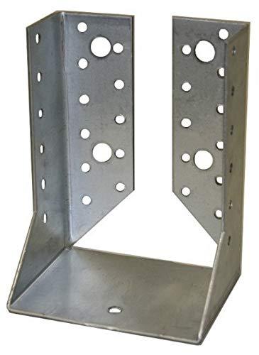 10 Stück Balkenschuhe 60 x 100 mm verzinkt innen abgewinkelt