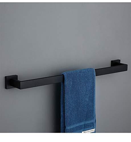 Toalla montada en la pared, gancho de ropa, soporte de toalla de papel, un solo polo, barra de toalla, conjunto de barras de toalla de acero inoxidable 304, baño Accesorios de cocina,Single pole