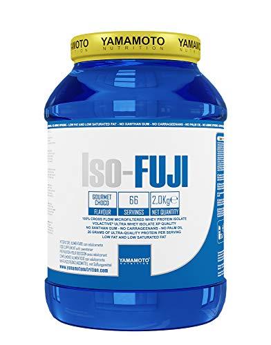Yamamoto Nutrition Iso-FUJI proteine del siero di latte isolate ultrafiltrate - 2 kg gusto Cioccolato