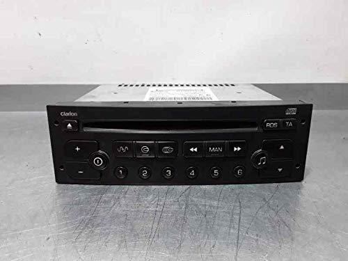 Sistema Audio/Radio Cd C Berlingo CLARION96608399XT PU2471A (usado) (id:delcp4324093)