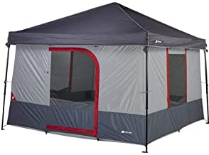 Ozark Trail 6 Person Tent Connectent For Canopy Camping Cabin Shelter Tents Gray, Outdoor camping easy to set up fast