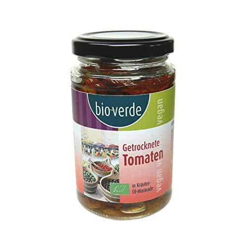 bio-verde Sonnengetrocknete Tomaten mit frischen Kräutern in Öl-Marinade - Bio - 200g