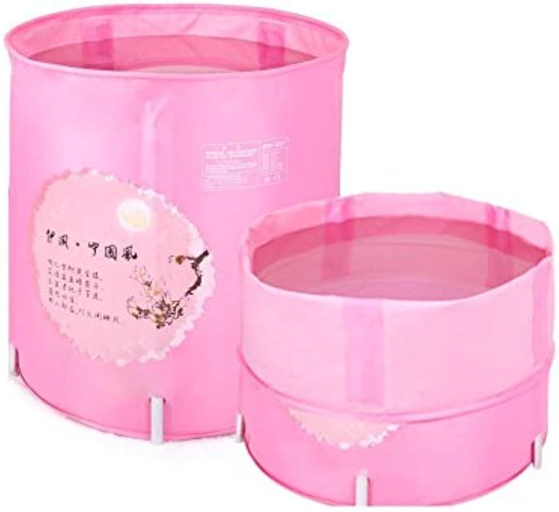 Bathtub Bathtub Pink Bathtub Fold Bath Barrel Fold Take A Bath Bathtub Send Cover