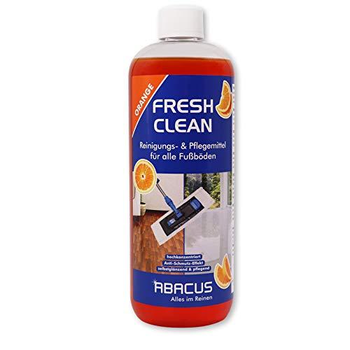 FRESH CLEAN Orange 1000 ml - Fußbodenreiniger Laminatpflege Fliesenreiniger Fußbodenpflege Laminatreiniger Fliesenpflege Linoleumreiniger PVC-Bodenreiniger Fliesen Laminat PVC Linoleum Reiniger