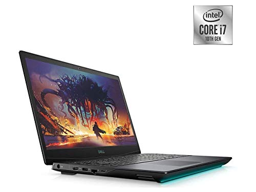 2021 Newest Dell G5 15.6'' FHD Gaming Laptop, Intel i7-10750H, NVIDIA GTX 1650Ti, 16GB DDR4 RAM, 256GB PCIe Solid State Drive + 1TB HDD, HDMI, WiFi, Backlit Keyboard, Win10 Home