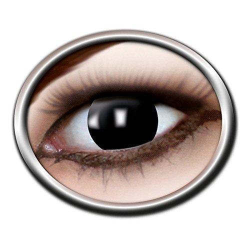 Lively Moments Kontaktlinsen / Monatslinsen- blind Black -