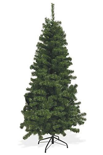 Galileo Casa 2423307 Sestriere Albero di Natale 150 cm, 360 Rami PVC, Verde, Taglia Unica