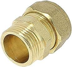 SOMATHERM 176-14L FOR YOU-Mini-vanne /à boisseaux sph/érique-raccord bic/ône pour tube cuivre de diam/ètre 14 Gris
