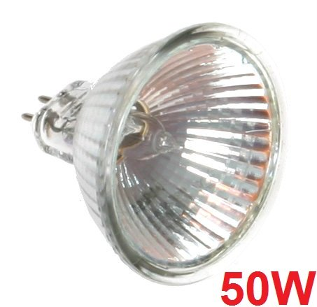 Osram Light Bulb 50W 12V MR16 GU5.3 Halogen Wide Flood