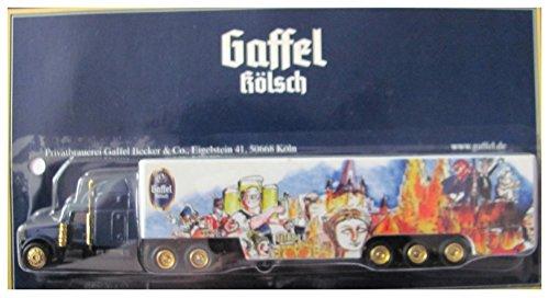 Gaffel Becker & Co Nr.03 - Historisches Köln (Zeichnung) - Peterbilt - US Sattelzug