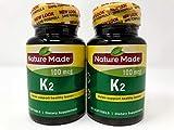 Nature Made Vitamin K2 Softgel, 100 mcg - 2 bottles each of 30 Softgels