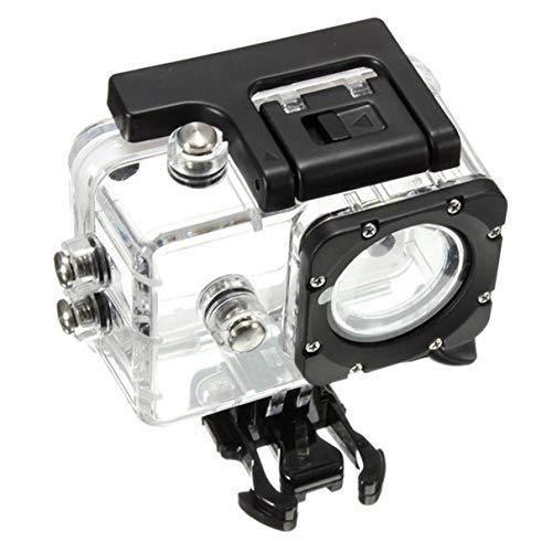 QLJ SJ4000 Accesorios de Buceo con Carcasa Impermeable SJ4000 Accesorios Impermeables para cámara Deportiva Material de PC - Transparente