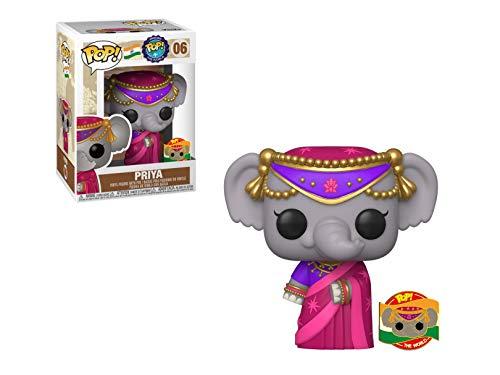 Funko POP! Around The World Series! Priya The Elephant #06! (India)