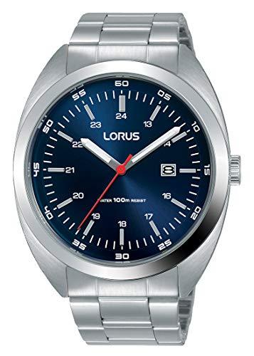 Lorus Reloj Analógico para Hombre de Cuarzo con Correa en Acero Inoxidable RH951KX9