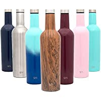 Simple Modern Double Wall Vacuum Insulated Wine Bottle