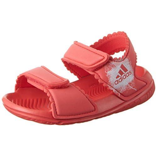 adidas Altaswim C, Scarpe da Fitness Unisex-Bambini, Rosa (Core Pink/Footwear White Corpnk/Ftwwht), 33 EU