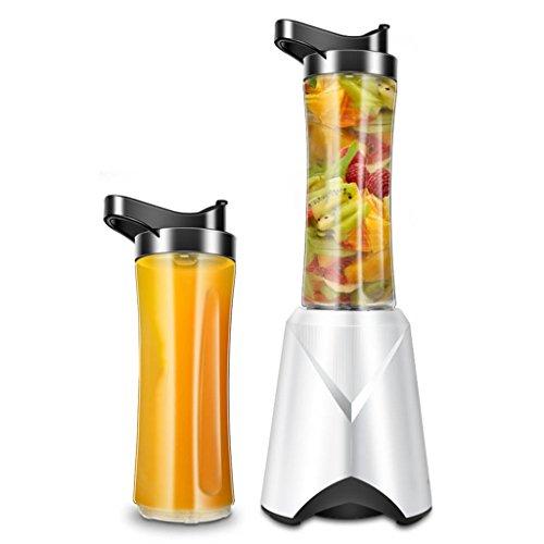 Multifunción Mezclador Extractor de Alta Velocidad Frutas Juicer Licuadora para Deportes, Trabajo, Cocina, Comedor, Blanco