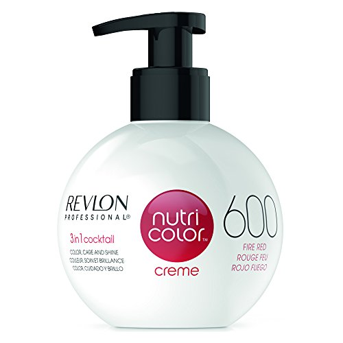 REVLON PROFESSIONAL Nutri Color Creme 600 Feuerrot (270 ml)