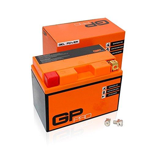 GP-PRO GTZ12S 12V 11Ah GEL Batteria di avviamento (simile a YTZ12S / YTZ14S) (Esente da manutenzione / Sigillato) Moto Accumulatore per es. Ho