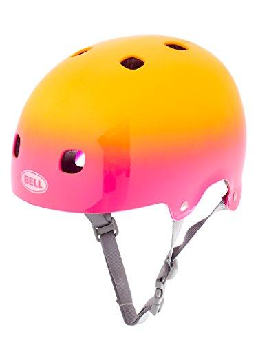 Bell Kinder Fahrradhelm Segment JR, Pink/Yellow Comet, 48-53 cm