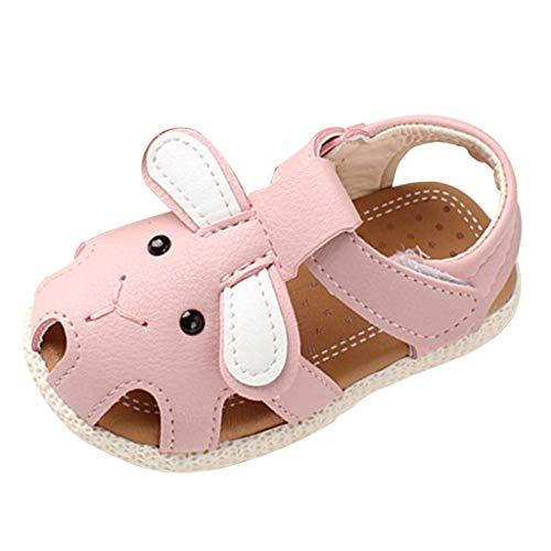 Sayla Sandalias para Bebés NiñA NiñO Verano Casuales Moda Vestr Fiesta Zapatos Primeros Pasos Bebé recién Nacido Dibujos Animados andadores Zapatos de Suela Blanda Playa Antideslizante