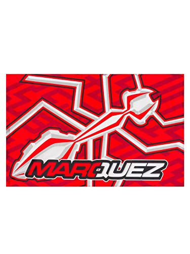 GP RACING Flagge MM93 Flag Ant Marc Marquez 93 Fahne MotoGP Official Racing Accesoires