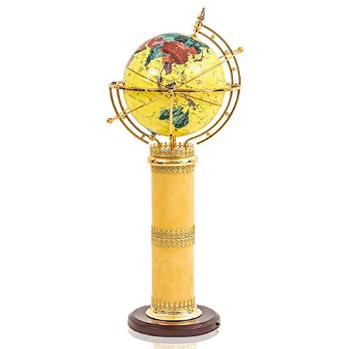 OUHUI Zuhause, Neuheit Boden Licht-Stehlampe Wohnzimmer Schlafzimmer Büro Globus Dekoration Große Stehlampe Bodenfluter/C