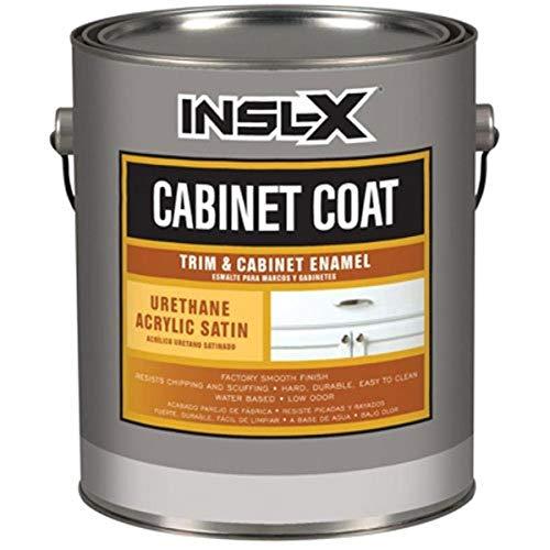 INSL-X PRODUCTS CC4510099-04 Quart Satin White Cab Enamel