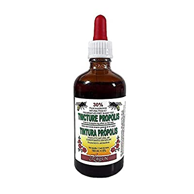 Bee Propolis Tincture 30%, 100 ml, Immune System Booster, Food Supplement