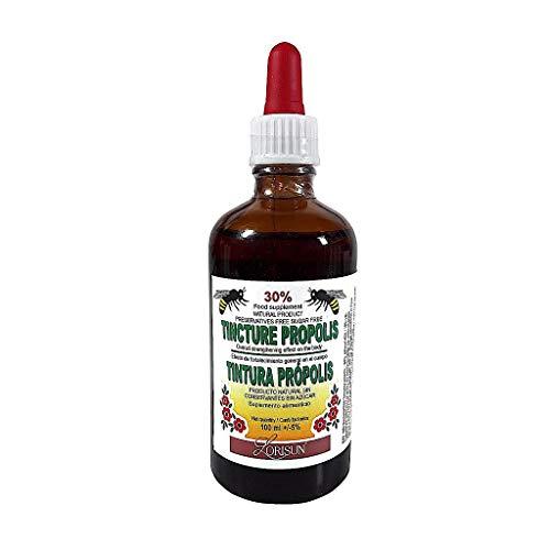 Teinture de propolis d'abeille 30%, 100 ml, rappel du système immunitaire, complément alimentaire