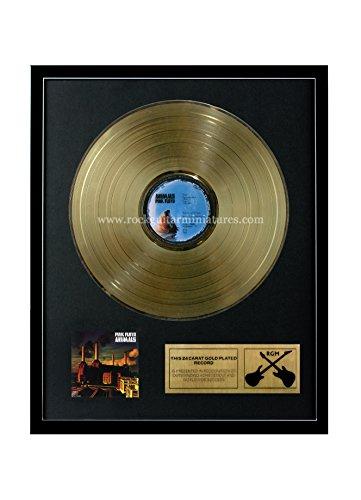 "Pink Floyd RGM1052 Animals chapado en oro, 12 ""LP"