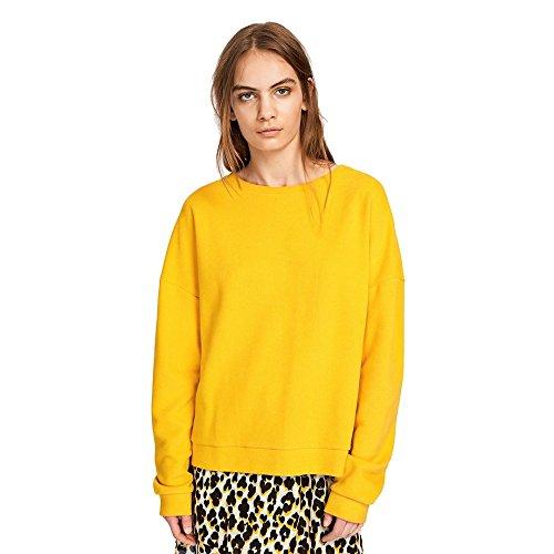Samsoe & Samsoe Robin o-n Damen Sweatshirt 3164 Golden Rod L