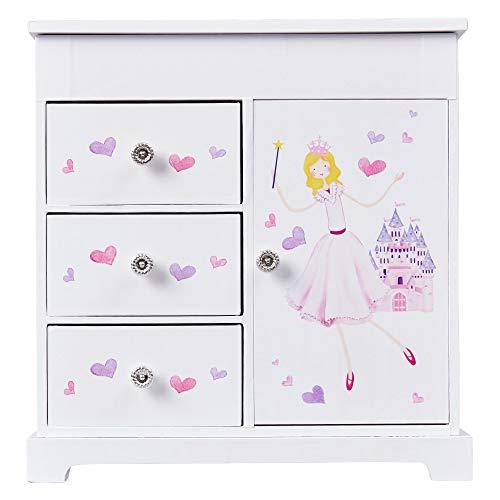 Mele & Co Adalyn Girl'S Musical Ballerina Jewelry Box