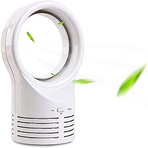 Import Mini Directly managed store Bladeless Desk Fan Double Quiet Silent Portable Ultra Speed