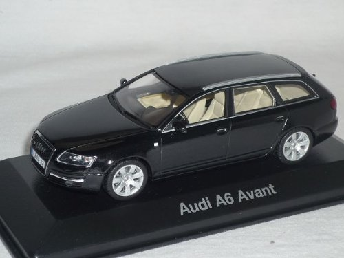 Audi A6 A 6 4f C6 Avant Phantom Schwarz Kombi 2004-2010 1/43 Minichamps Modellauto Modell Auto
