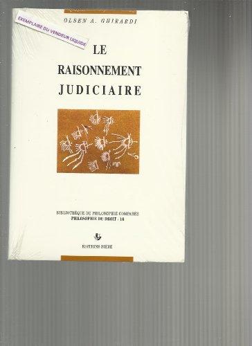 Le raisonnement judiciaire