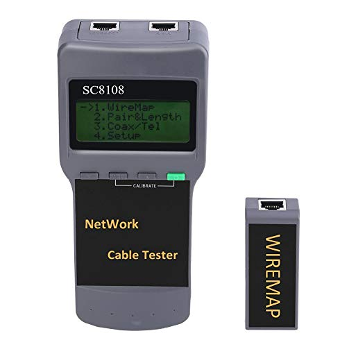 Comprobador de cables de red RJ45 CAT5 Detector de red LAN Tracer Tracker