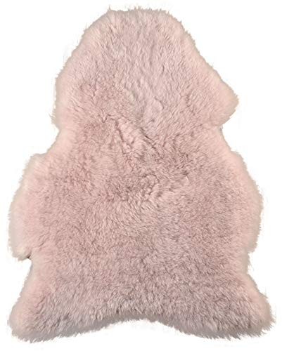 Natur-Fell-Shop - Vello d'agnello, 110 x 60 cm, colore: Rosa