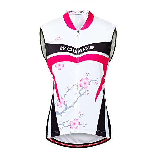 WOSAWE Maillot Ciclismo Mujer Transpirable