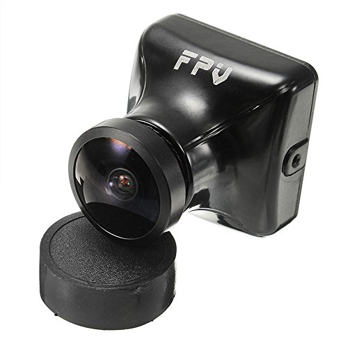 HankerMall FPV Kamera JJA-960H 1080 P HD Cam 2.1mm Objektiv 135 Grad mit OSD Interne Einstellbare NTSC / PAL für Multicopter Quadcopter (Schwarz)